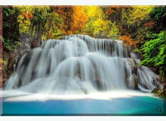 """Картина на холсте """"Водопады Таиланда"""""""
