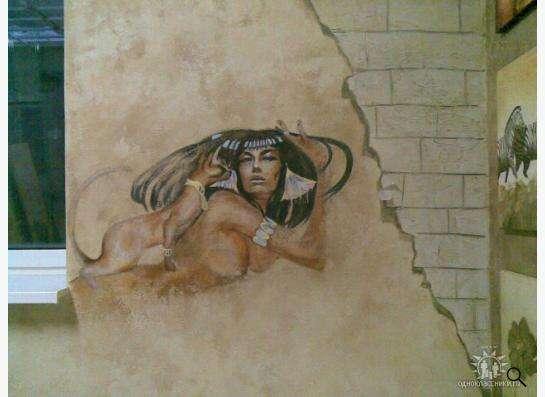 Роспись стен в Москве Фото 1