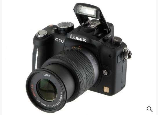 Panasonic Lumix G10 kit 14-42 F3.5-5.6 со съемным объективом