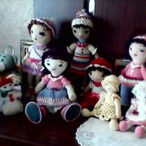 Кукла вязаная игрушка за 150 р, в г.Донецк