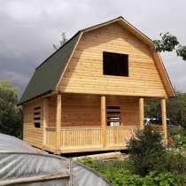 Строим: деревянные Дома, срубы, бани из бруса, в г.Минск