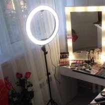 Кольцевая лампа LED (светодиодная) для индустрии красоты, в г.Кызылорда