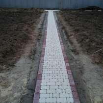 Укладка тротуарной плитки, в Калуге