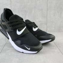 Кроссовки Nike весна осень, мужские, текстиль, чёрно-белые, в г.Одесса