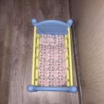 Детская кукольная кроватка, в Клине