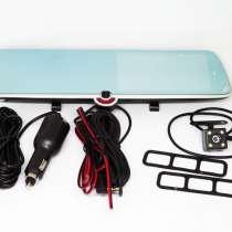 DVR CSZ-C33 Зеркало с видео регистратором с ТРЕМЯ камерами, в г.Киев