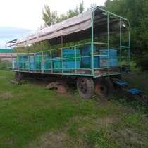 Платформа для перевозки ульев, передвижной домик пчеловода, в Богучарах
