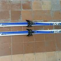 Беговые лыжи TISA Sport Wax +палки, в Москве