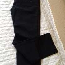 Черные брюки (джинсы) из качественной плотной тянущейся ткан, в г.Петропавловск