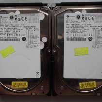 Серверные жёсткие диски SCSI Fujitsu MAW3147NP (2 штуки), в Омске