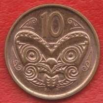 Новая Зеландия 10 центов 2014 г. нечастый год, в Орле
