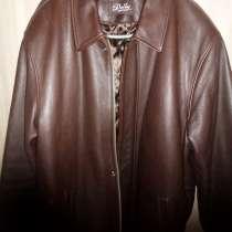 Кожаная мужская куртка, в Новосибирске