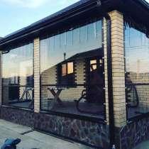 Мягкие окна ПВХ для беседок, веранд, кафе в Краснодаре, в Краснодаре