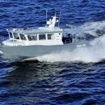Морской водометный катер Баренц 1100, в Архангельске