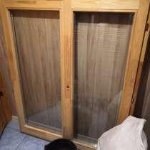 Окно 1170*1430 сосна стеклопакет стоит в идеальных условиях, в Щелково