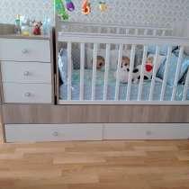 Детская кроватка с музыкой, в г.Костанай