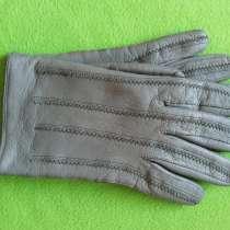 Перчатки мужские кожаные3 Германия, в Омске