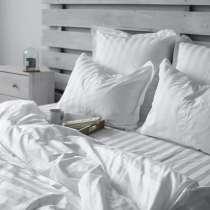 Предлагаем постельное бельё из страйп сатина, в Москве