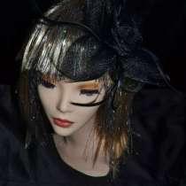 Вуалетка, шляпка, украшение для волос, в Москве