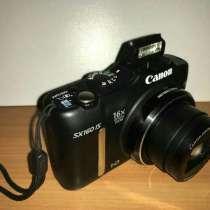 Цифровой фотоаппарат Canon SX160IS HD, в Санкт-Петербурге