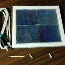 Солнечная батарея, в Томске