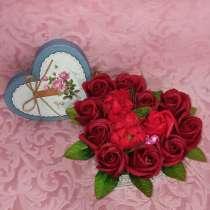 Букет роз из мыла, в Невинномысске