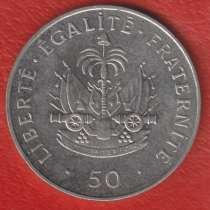 Гаити 50 сантимов 1999 г. Ллантризант, в Орле