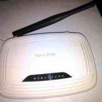 Б/п маршрутизатор WI-FI роутер TP-Link 150 Мбит/с, в Твери