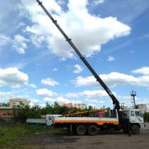 Продам кран борт манипулятор Хундай кму ХИАБ, в Перми