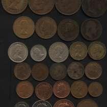 Монеты Англии, Италии, Дании, Швеции и Финляндии в наборах, в Москве