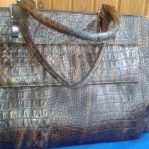 Кожаная сумка 38/32см, в г.Могилёв