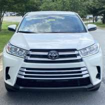 Toyota Highlander 2018 model, в г.St Helens