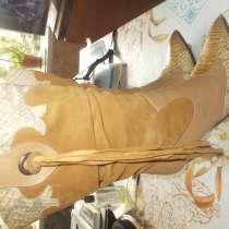 сапоги демисезонные замшевые на каблуке, в Кольчугине
