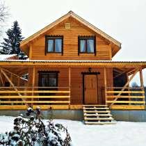 Дом с баней в лесу, в Тарусе