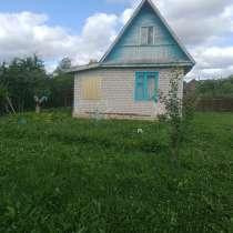 Продам летний дачный уютный домик на участке в 7 соток, в Порхове
