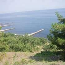 Участок 3,3 га под рекреацию с проектом на берегу моря. ЮБК, в Алуште