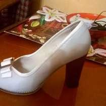 Туфли натуральная кожа, новые, в г.Павлоград