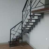 Изготовление лестниц на металлокаркасе, в Новосибирске