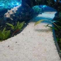 Белый мрамор для аквариума, флорариума и т. д, в Москве