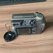 Фотоаппарат Olympus C-4000 (2005) + сумка. 3 карты памяти (1, в Мытищи