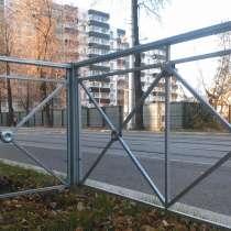 Пешеходное ограждение металлическое типа, в Альметьевске