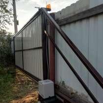 Ворота откатные, заборы из профнастила, штакетника, в г.Лондон