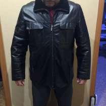 Куртка мужская зимняя, натуральная кожа и мех, в Перми