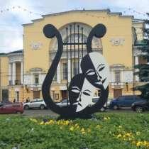 """Арт-объект """"Лира"""", в Барнауле"""