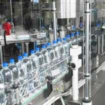 Линия розлива газ. воды и напитков ПЭТ-тару, 600 б/час, в Нижнем Новгороде