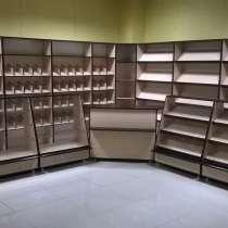 Торговое оборудование, прилавки, стеллажи, витрины, в г.Донецк