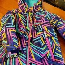 Зимняя куртка из мембранной ткани с утеплителем, в Москве