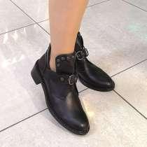Женские ботинки из натуральной кожи. Размер 42, 43, в Красноярске