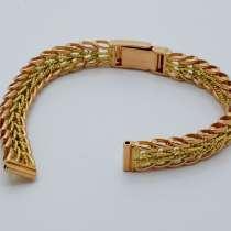 Золотой браслет для часов 8мм., 15,65гр, в Калининграде