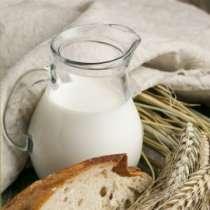 Коровье молоко из деревни, в Ярославле